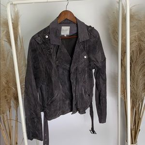 Thread & Supply M faux leather jacket vintage